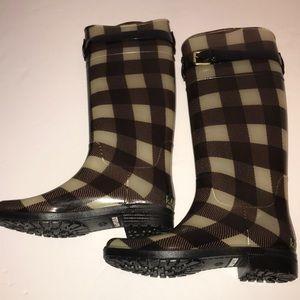 EUC RALPH LAUREN Women's Sz 9 Tall Rain Boots